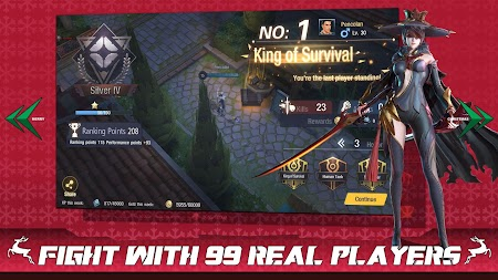 Survival Heroes - MOBA Battle Royale APK screenshot thumbnail 4