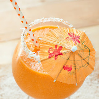 Tropical Pineapple Carrot Smoothie