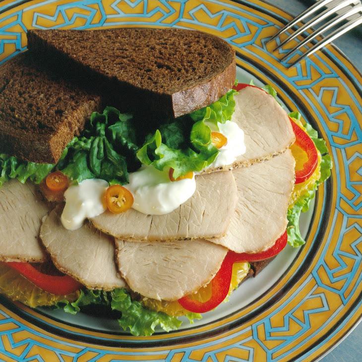 California Pork Sandwiches Recipe