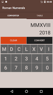 Roman Numerals Converter - náhled