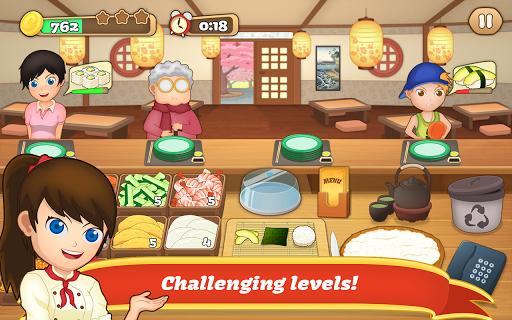 Sushi Fever - Cooking Game 1.13.1 screenshots 3