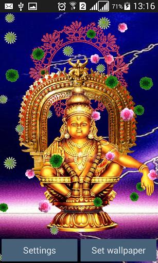 Lord Ayyappa Live Wallpaper