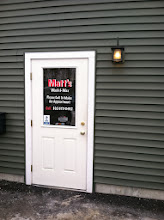 Photo: Matt's Wash & Wax in Jericho, VT proudly displaying their BBB Accreditation