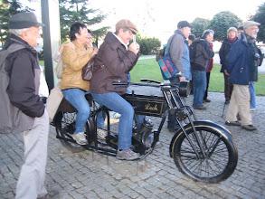 Photo: Motocykl był też i dwuosobowy ...