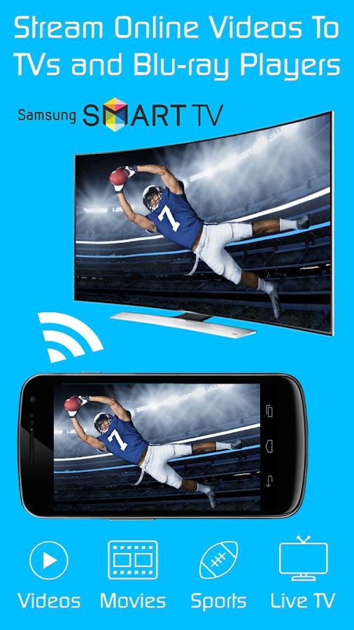 Video & TV Cast + Samsung TV | HD Movie Streaming APK Cracked Free