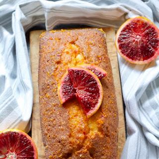 Easy Blood Orange Drizzle Cake.