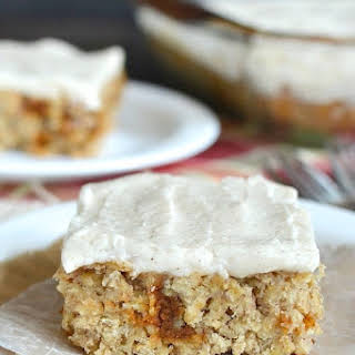 Frosted Cinnamon Apple Bars.