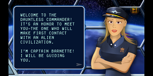 Screenshot for Quantum Contact: A Space Adventure in United States Play Store