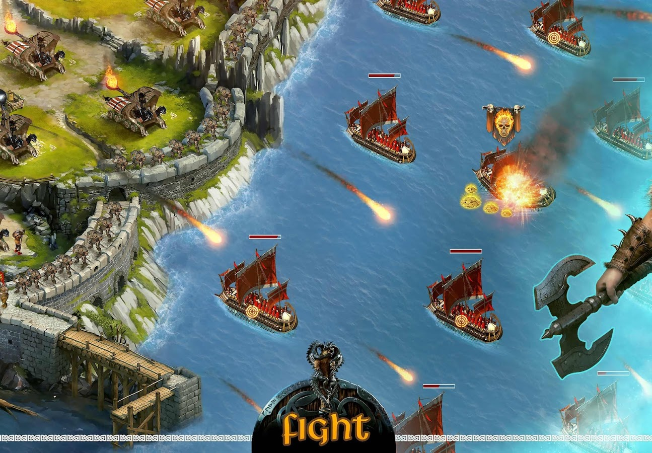 vikings war of clans android apps on google play. Black Bedroom Furniture Sets. Home Design Ideas