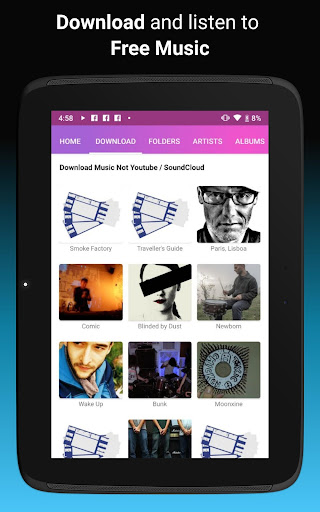 Download music, Free Music Player, MP3 Downloader 1.121 screenshots 9
