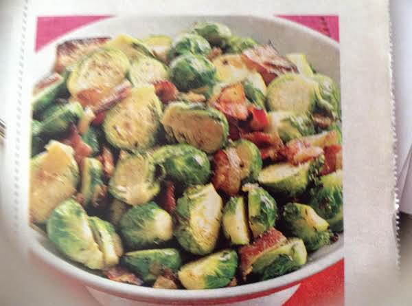 Pan -roasted Brussels Sprouts With Bacon