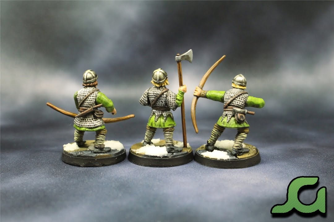 Archers and Infantryman Rear