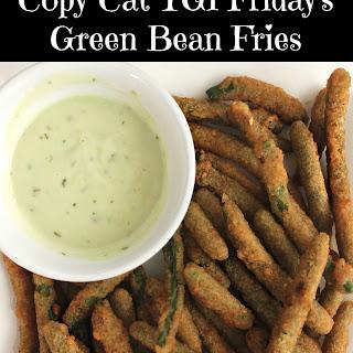 Copy Cat Recipe - TGI Friday's Green Bean Fries.