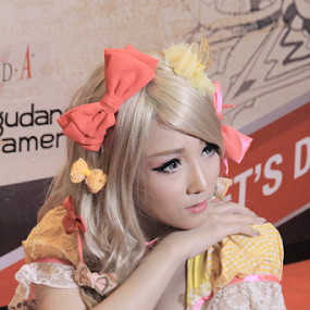 Lala #4 by Timmothy Tjandra - People Portraits of Women ( cosplay, woman, costume, women,  )