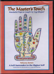The Master´s Touch vol 7: Self-Surrender to the Higher Self - DVD med Yogi Bhajan