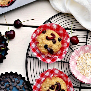 Cherry Chocolate Oatmeal Cups