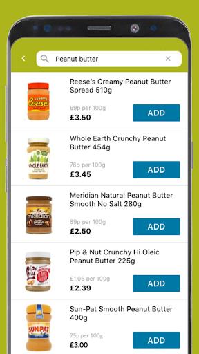 Ocado Zoom grocery delivery screenshot 6