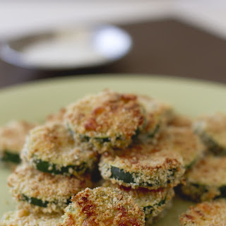 Fried Panko Parmesan Zucchini Chips
