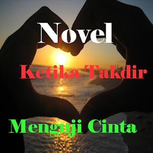 Novel Ketika Takdir Menguji Cinta - náhled