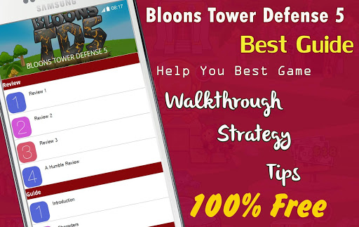 Guide for Bloons TD 5