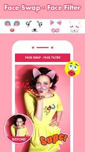 Face Swap - Face Filter, Sticker, Selfie Editor - náhled