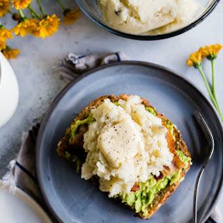 Leftover Mashed Potato Breakfast Toast.