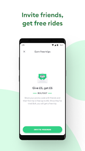 Bolt (formerly Taxify) 5