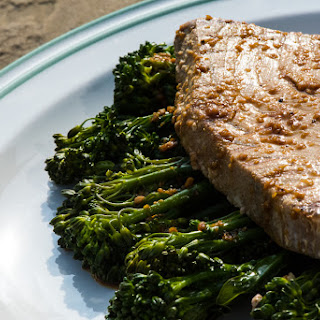 Soy Lime Grilled Tuna