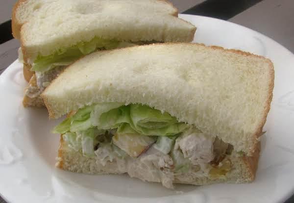 Chicken Waldorf: Chicken Salad W/ Apples & Walnuts