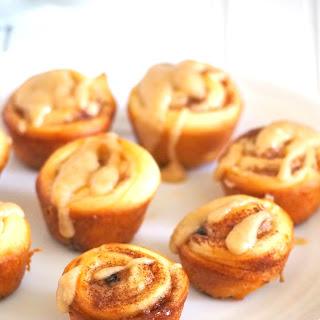Mini Cinnamon Rolls Recipe with Coffee Icing Recipe