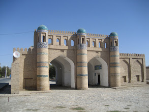 Photo: Khiva - Outer wall gate