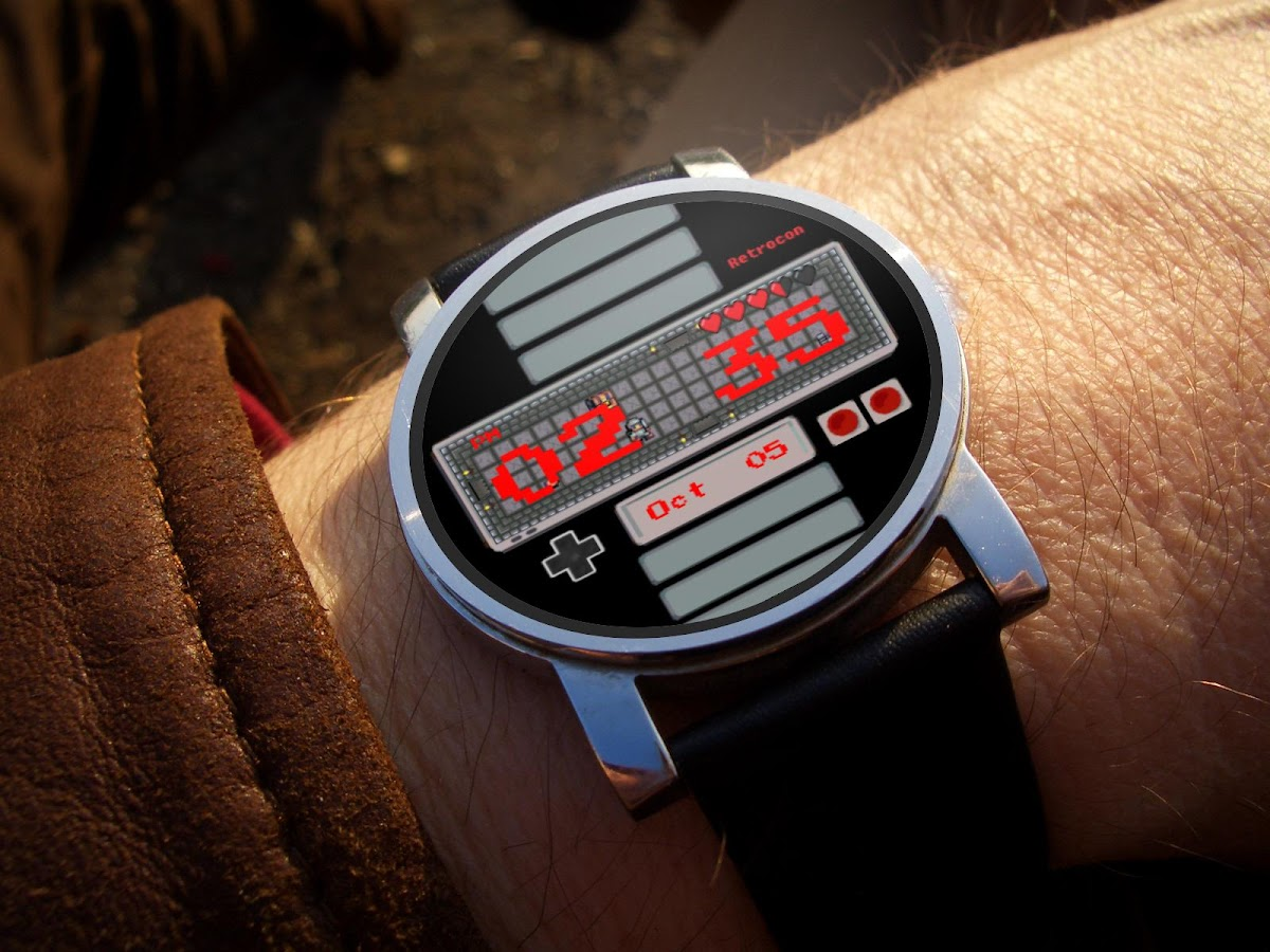 Retrocon - Watch Face- screenshot