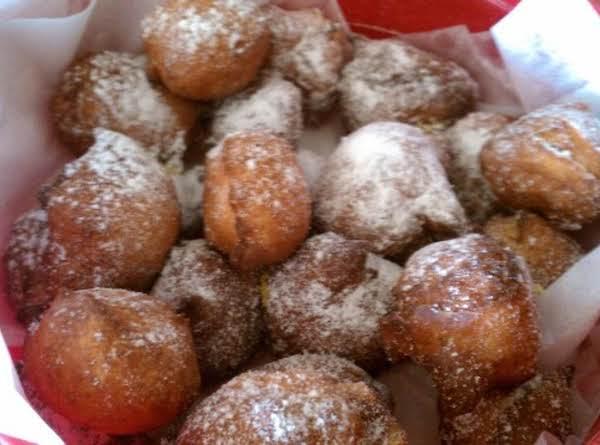 Sugar Free Raspberry Orange-ricotta Beignets