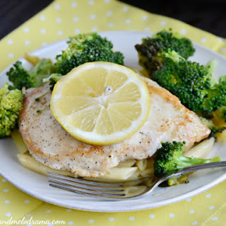 Skillet Lemon Chicken and Broccoli