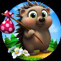 Hedgehog goes home icon