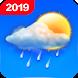 無料の天気予報&時計ウィジェット