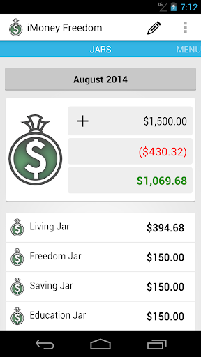 iMoney Freedom  screenshots 1