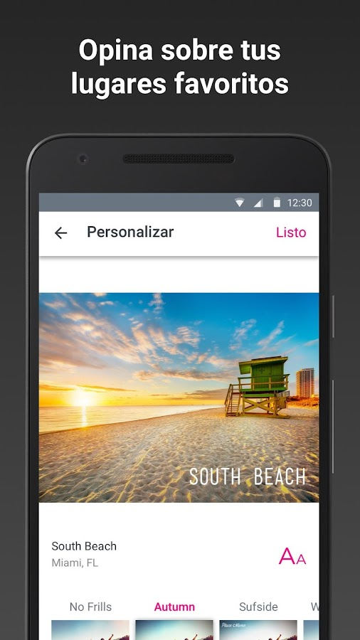 Trip by Skyscanner: captura de pantalla
