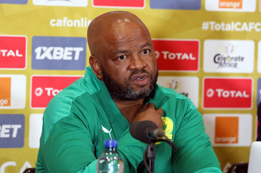 Mngqithi says Lebusa back for Sundowns, should not have been released from Bafana