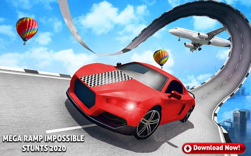 Mega Stunt Car Race Game - Free Games 2020 Apk 2