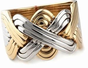 Guldring i 12 delar