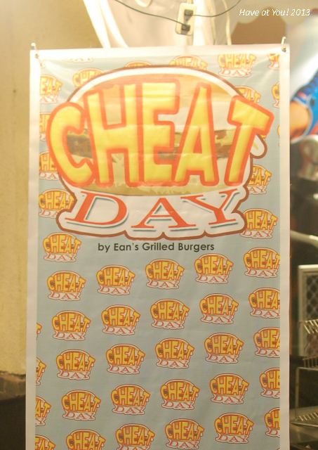 Cheat Day banner