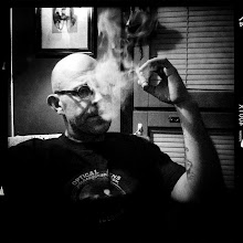 Photo: Cigar  #mofomo #iphoneography #cigar #smoking #portrait #monochrome #hipstamatic #MonochromeMonday #MonoMonday