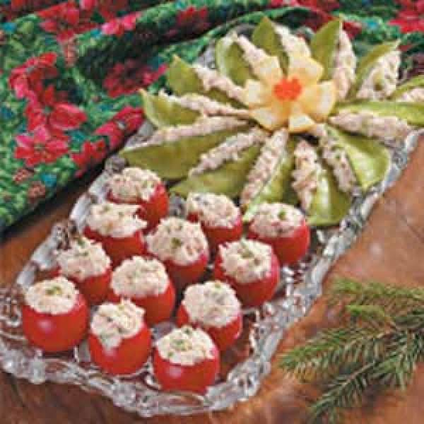 Crab-stuffed Cherry Tomatoes And More Recipe