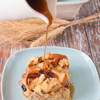 Easy Bread Pudding (video).