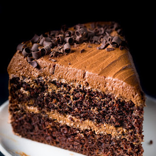 Chocolate Ricotta Layer Cake Recipe