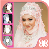 Bridal Hijab Photo Montage