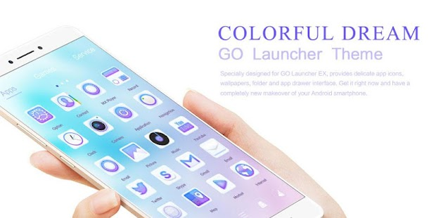 Colorful Dream GoLauncherTheme- screenshot thumbnail