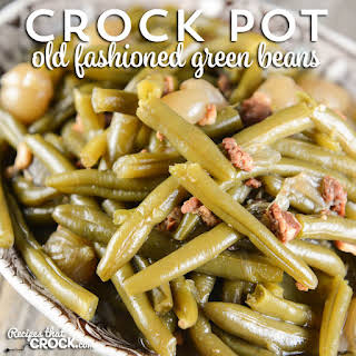 How to Cook Fresh Green Beans in the Crock Pot.