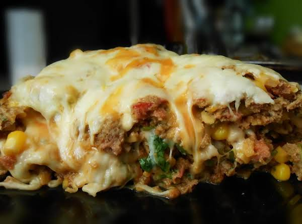 Cheese Lovers Mexican Meatloaf Recipe